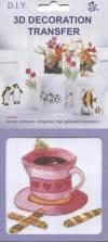 Наклейка для керамики и стекла Чашка