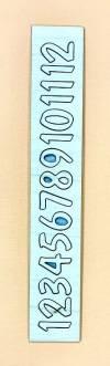 Комплект Арабские цифры 2,5 см