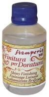 Лак финишный спиртовой Finitura per Doratura для потали, 100мл