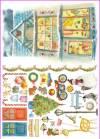 Рисовая бумага Calambour CO Снеговик, игрушки