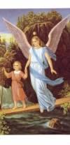 Аппликации для свечей Ангел