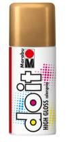 Краска аэрозольная Marabu-Do it, 150мл, цвет Золото глянец