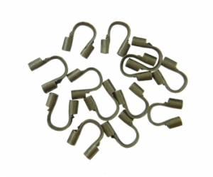 Пластинка для защиты проволоки, 4.6x4 мм, 10 шт, цвет Бронзовый