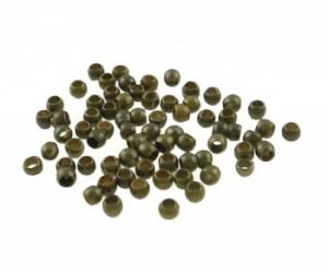 Зажимная бусина (кримп), 1,5 мм, 100 шт, цвет Бронзовый