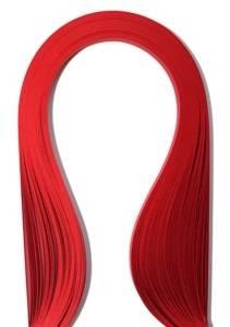 Бумага для квиллинга, 3мм, цвет Темно-красный