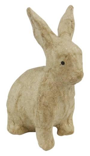 Фигурка Decopatch из папье-маше объемная Кролик сидящий