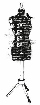 Штамп силиконовый Dress Form