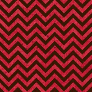 Ткань для пэчворка, 50х55см, Розовый зигзаг