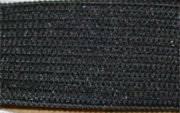 Резинка 20 мм черная, 1 метр