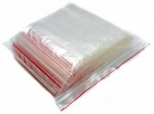 Пакеты упаковочные Zip-lock, 100 шт