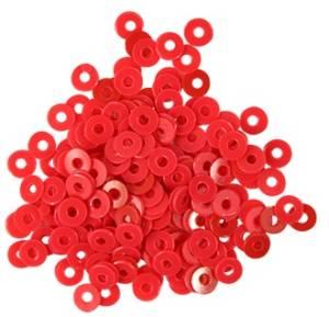 Пайетки плоские, 3мм, 10г, цвет Розовый матовый