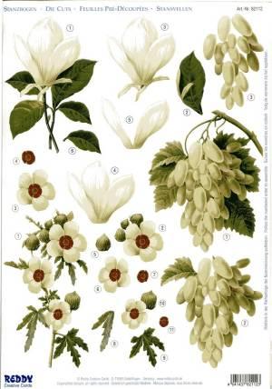 Карта серии Цветы №12