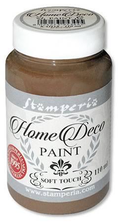 Краска на меловой основе Home Deco, 110 мл, цвет Каштановый