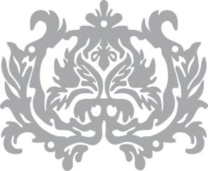 Трафарет-маска 14,8х21см Орнамент