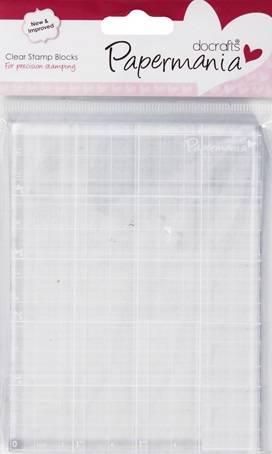 Прозрачный блок для штампов, 10,3х13,3см