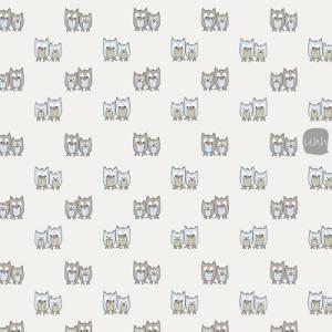 Ткань для пэчворка, 50х55см, Полоски на коричнвом