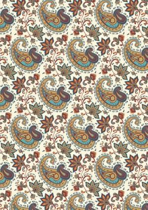 Ткань для пэчворка, 50х55см, серия Сказочный Восток