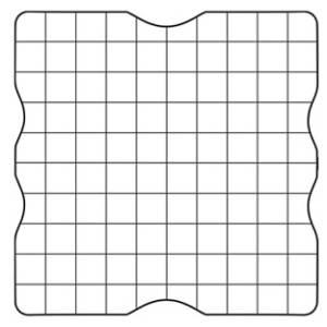 Блок акриловый 6х6 см