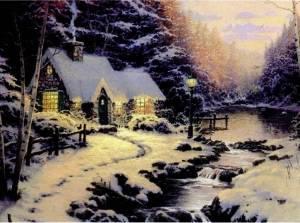 Набор Зимний пейзаж