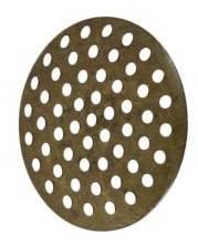 Заготовки круглые для рукоделия, 2,5см, 5 шт, цвет Бронза