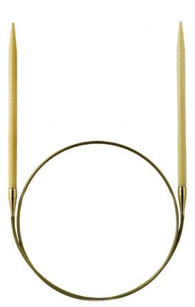 Спицы бамбуковые круговые, №7, 80см