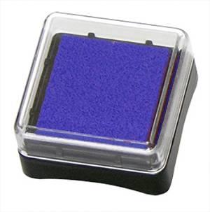 Штемпельная подушечка Inc Pads mini (масляная основа), цвет Синий