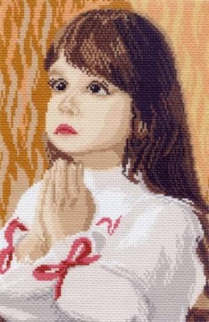 Рисунок на канве 24х35см.(28х37см) Молитва