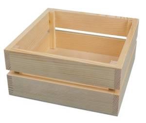 Ящик квадратный, 20х20х9см