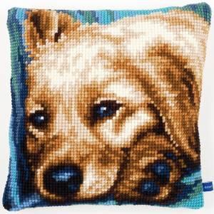 Набор для вышивания подушки Собака