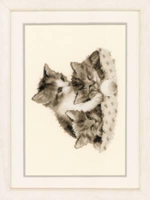 Набор для вышивания Три маленьких котенка