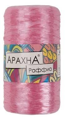 Пряжа Arachna Raffia, 50г, цвет Бл. розовый
