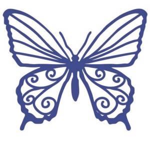 Трафарет-маска Бабочка, 15х15см