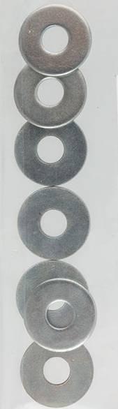 Шайбы металличские, 2,5х6мм, 20шт.