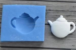 Молд силиконовый Чайник, 2,5х2см.