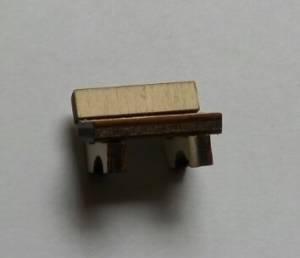 Скамеечка со спинкой, 1,0х1,3см