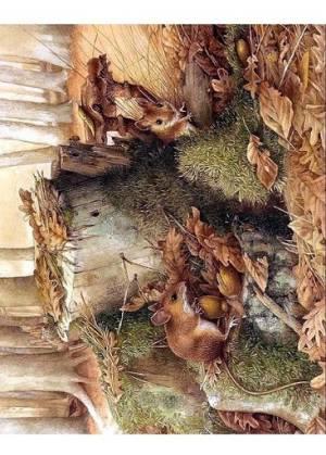Декупажная рисовая карта ProArt, 13,5х19см, серия Из жизни мышей