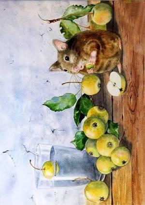 Декупажная рисовая карта ProArt, 13,5х19см, Вкусные яблоки