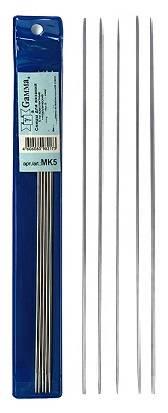 Спицы металлические, d 5мм, 20 см, 5шт.