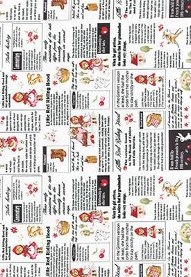 Ткань для пэчворка, панель, 60х110см, серия Little Heroines