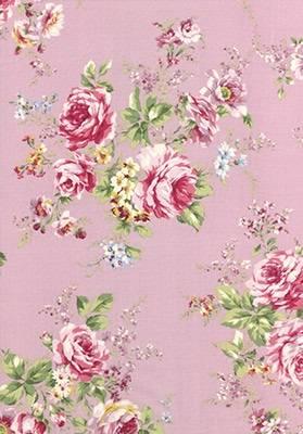 Ткань для пэчворка, панель, 60х110см, серия Rococo Sweet