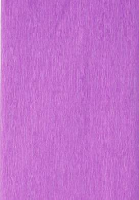Крепированная бумага, 50см х 2 м., цвет Фиолетовый