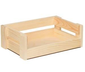 Ящик прямоугольный, сосна, 30х20х10см