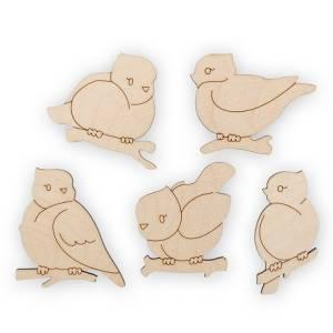 Пташки, мини-набор.