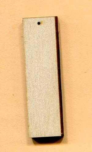 Основа прямоугольная, 5,5х1,5 см.