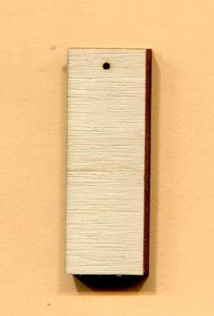 Основа прямоугольная, 4х1,4 см.