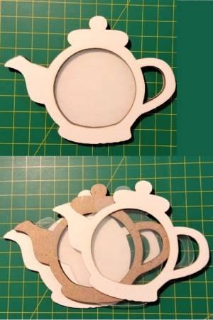 Шейкер для декора 8х10,6 см, Чайник