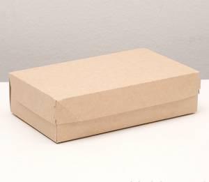 Упаковочная коробка-контейнер Cake1900, 23х14х6 см