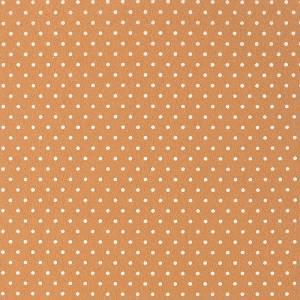 Фетр декоративный с рисунком в горошек, 30х45см, цвет Кофейный