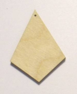 Основа Ромб, 3х2 см
