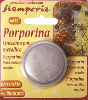 Порошок-пурпурин, цвет Серебристый